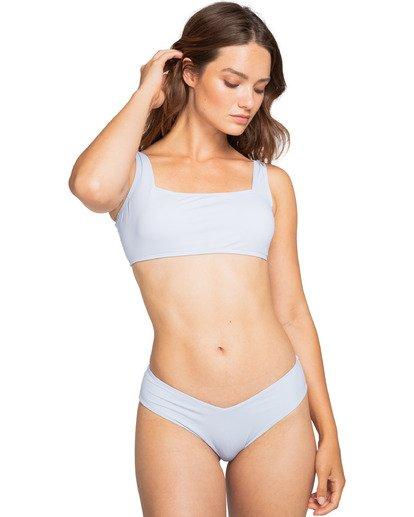 1 Sol Searcher Scoop Front Tank - Top de bikini para Mujer Azul W3ST03BIP1 Billabong