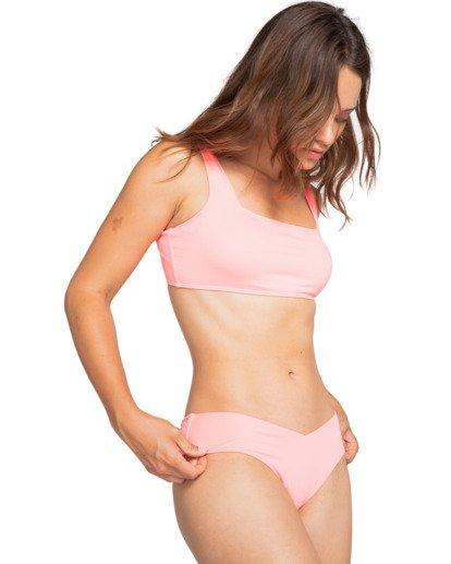 0 Sol Searcher Scoop Front Tank - Top de bikini para Mujer Rosa W3ST03BIP1 Billabong