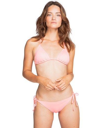 1 Sol Searcher Slide Tri - Top de bikini para Mujer Rosa W3ST04BIP1 Billabong