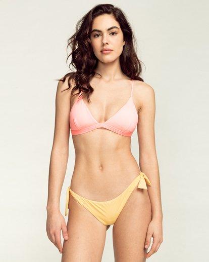 0 Sol Searcher Cross Back Tri - Bikini Top for Women Pink W3ST06BIP1 Billabong