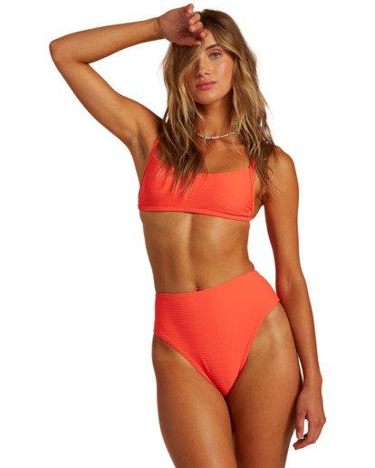 0 Tanlines Bralette - Bikini Top for Women Orange W3ST11BIP1 Billabong