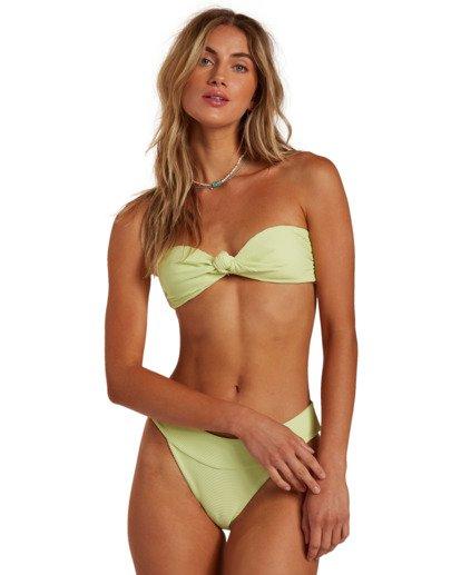 0 Tanlines Lulu Bandeau - Bikini Top for Women Green W3ST12BIP1 Billabong