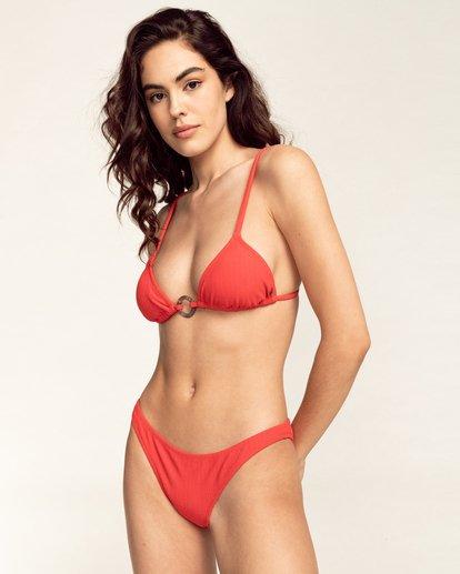 0 Feels Like Love Fixed Tri - Bikini Top for Women Red W3ST31BIP1 Billabong