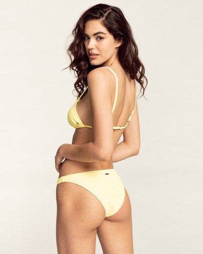 1 Feels Like Love Fixed Tri - Haut de bikini pour Femme Jaune W3ST31BIP1 Billabong