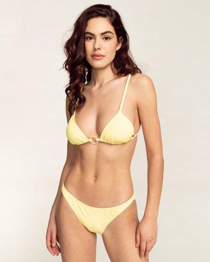 0 Feels Like Love Fixed Tri - Haut de bikini pour Femme Jaune W3ST31BIP1 Billabong