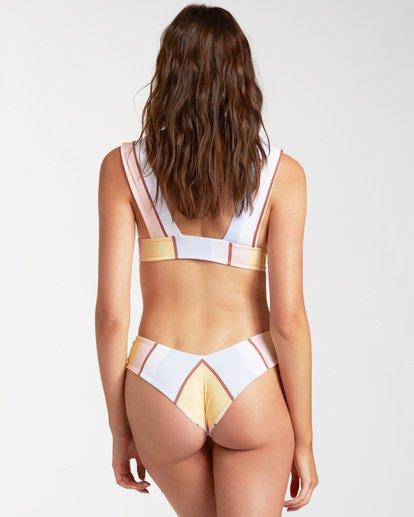 2 Feeling Sunny Plunge - Top de bikini reversible para Mujer Marron W3ST77BIP1 Billabong