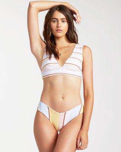 0 Feeling Sunny Plunge - Top de bikini reversible para Mujer Marron W3ST77BIP1 Billabong