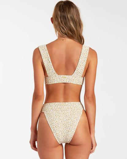 1 Summer Love Plunge - Top de bikini para Mujer Beige W3ST81BIP1 Billabong
