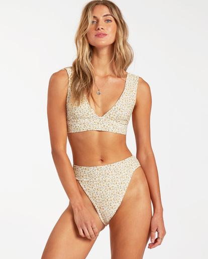 0 Summer Love Plunge - Top de bikini para Mujer Beige W3ST81BIP1 Billabong