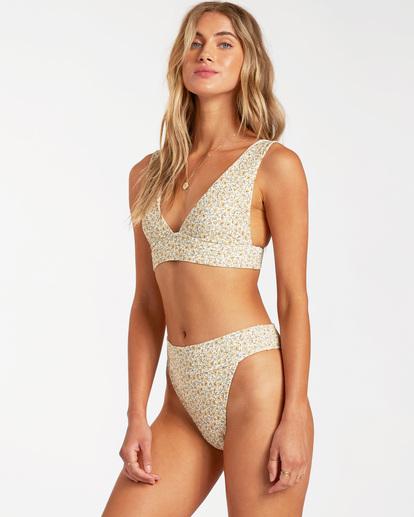 2 Summer Love Plunge - Top de bikini para Mujer Beige W3ST81BIP1 Billabong