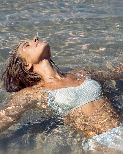 1 Broadwalk Vintage - Haut de bikini bralette pour Femme Bleu W3ST83BIP1 Billabong