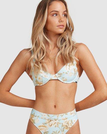 3 Laguna - Bra Bikini Top for Women Blue W3ST85BIP1 Billabong