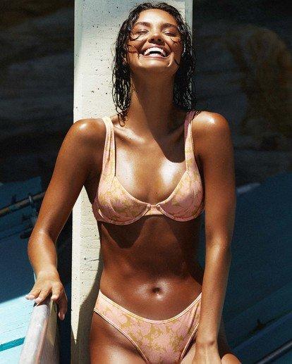 0 Summer Sun Chloe - Bra Bikini Top for Women Orange W3ST89BIP1 Billabong