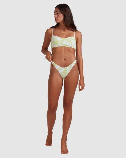 6 Sun Drenched Vintage - Top de bikini bralette para Mujer Verde W3ST90BIP1 Billabong