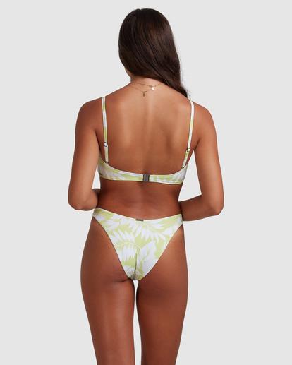 3 Sun Drenched Vintage - Top de bikini bralette para Mujer Verde W3ST90BIP1 Billabong
