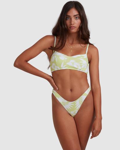 1 Sun Drenched Vintage - Top de bikini bralette para Mujer Verde W3ST90BIP1 Billabong