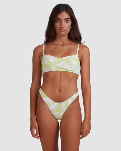 4 Sun Drenched Vintage - Top de bikini bralette para Mujer Verde W3ST90BIP1 Billabong