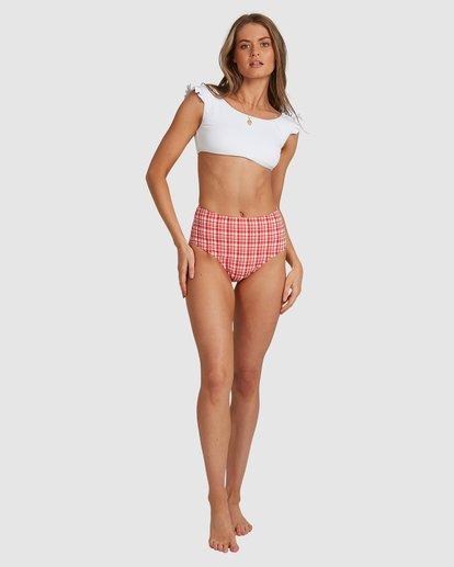 9 Sand Dunes - Haut de bikini Crop Top pour Femme Blanc W3ST92BIP1 Billabong