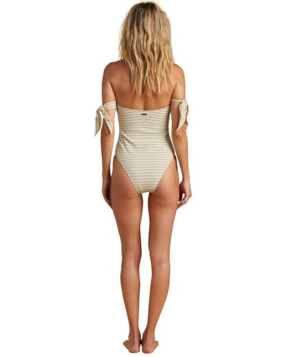 3 Salty Blonde Meet Your Matcha - Recycled One-Piece Swimsuit for Women Green W3SW19BIP1 Billabong