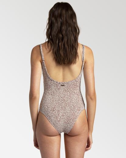 2 Wild Shadows - One-Piece Swimsuit for Women Brown W3SW41BIP1 Billabong