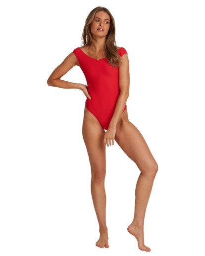 5 Tanlines - Bañador entero para Mujer Rojo W3SW53BIP1 Billabong