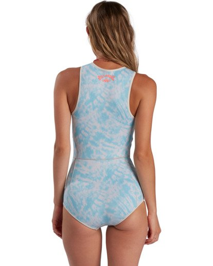 2 Surf Capsule Sol Sistah - Sleeveless Springsuit for Women Blue W42G52BIP1 Billabong