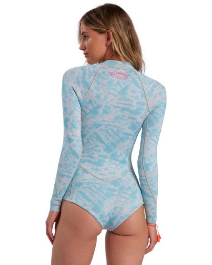2 Surf Capsule Salty Dayz - Long Sleeve Springsuit for Women Blue W42G53BIP1 Billabong