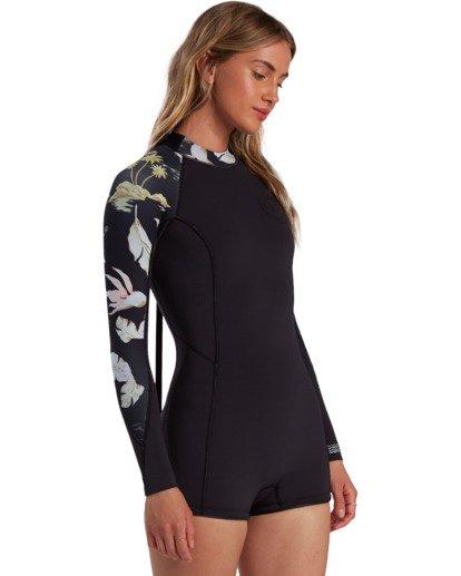2 Surf Capsule Spring Fever - Long Sleeve Springsuit for Women Black W42G54BIP1 Billabong