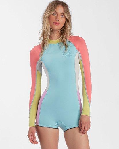 0 Surf Capsule Spring Fever - Traje de surf de primavera con manga larga para Mujer  W42G54BIP1 Billabong