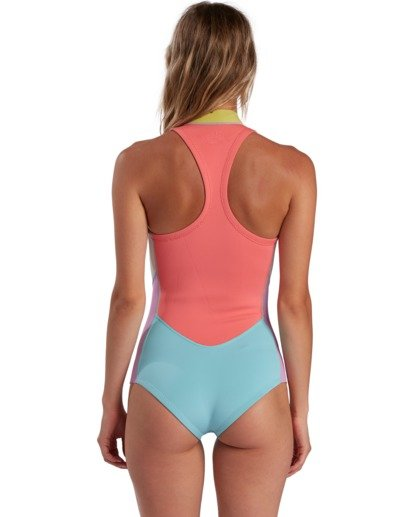 2 Surf Capsule Salty Dayz - Sleeveless Chest Zip Springsuit for Women  W42G55BIP1 Billabong