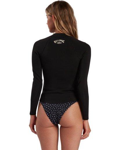 1 Surf Capsule Peeky - Chaquetilla para Surf para Mujer Negro W42G56BIP1 Billabong