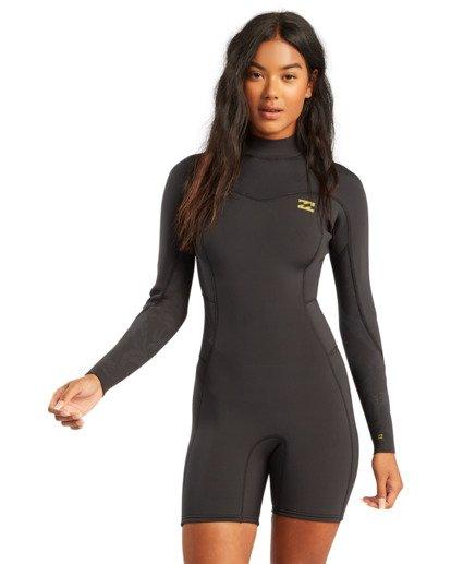 0 2/2mm Synergy - Traje de surf de primavera con manga larga y cremallera en la espalda para Mujer  W42G58BIP1 Billabong