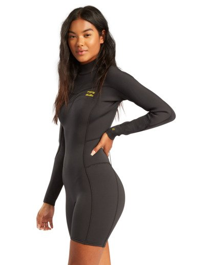 1 2/2mm Synergy - Traje de surf de primavera con manga larga y cremallera en la espalda para Mujer  W42G58BIP1 Billabong