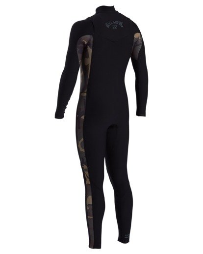 1 Revolution Pro - 3/2mm Chest Zip Wetsuit for Men Camo W43M51BIP1 Billabong