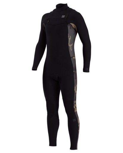 0 Revolution Pro - 3/2mm Chest Zip Wetsuit for Men Camo W43M51BIP1 Billabong