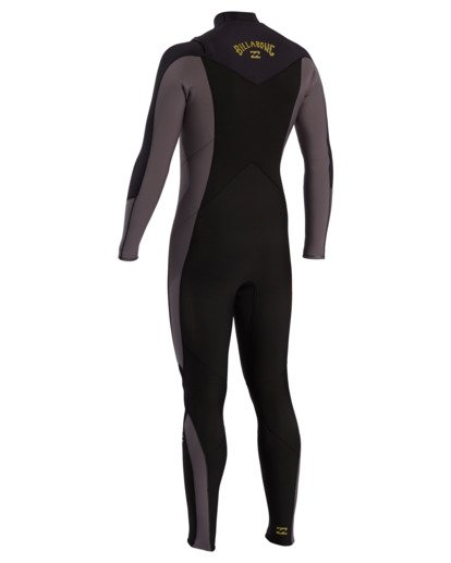 1 Absolute - 3/2mm Chest Zip GBS Wetsuit for Men Grey W43M54BIP1 Billabong