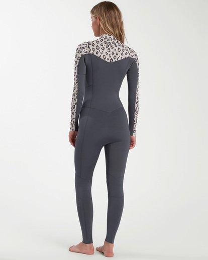 2 Salty Dayz - 4/3mm Chest Zip Wetsuit for Women  W44G50BIP1 Billabong