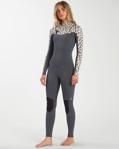 1 Salty Dayz - 4/3mm Chest Zip Wetsuit for Women  W44G50BIP1 Billabong