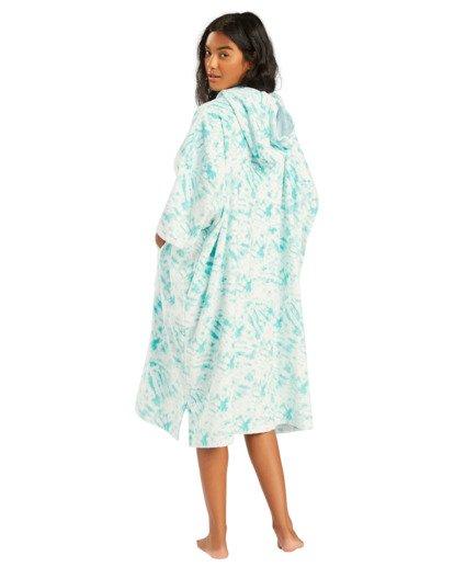 1 Hoodie - Poncho para surf para Mujer Azul W4BR70BIP1 Billabong