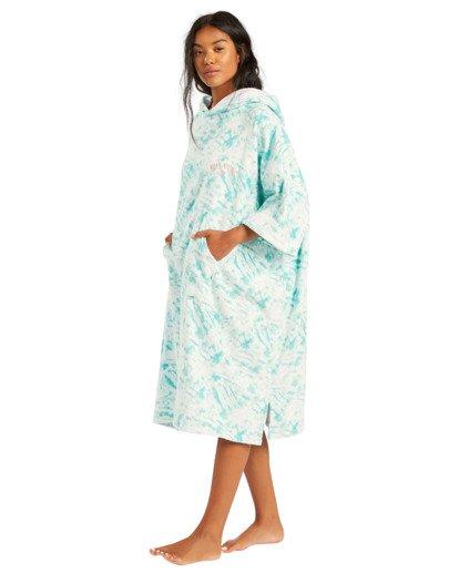 2 Hoodie - Poncho para surf para Mujer Azul W4BR70BIP1 Billabong