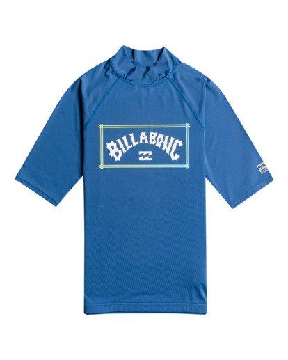 0 Unity - Lycra manches courtes UPF 50 pour Homme Bleu W4MY08BIP1 Billabong