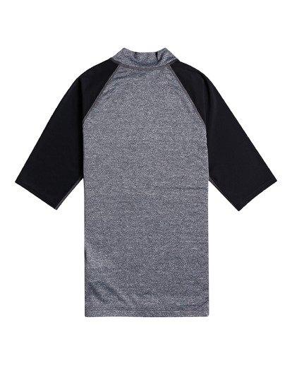 1 Contrast - Rash Vest UPF 50 a maniche corte da Uomo Gray W4MY09BIP1 Billabong
