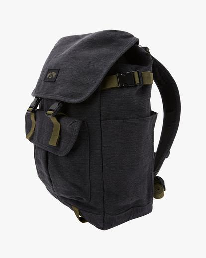 1 Adventure Division Kings Hemp 27L - Large Backpack for Men Black W5BP16BIS1 Billabong