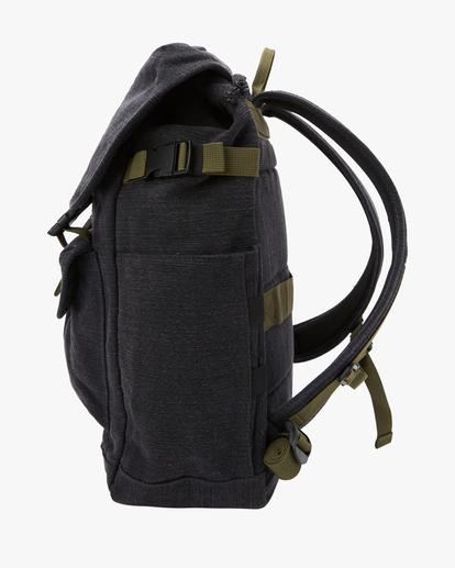 2 Adventure Division Kings Hemp 27L - Large Backpack for Men Black W5BP16BIS1 Billabong