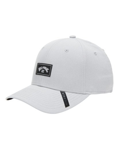 2 Adventure Division Surftrek - Stretch Fit Cap for Men Grey W5CF02BIP1 Billabong