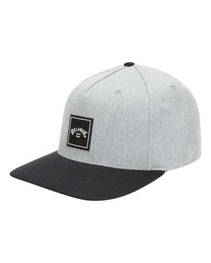 2 Stacked - Snapback Cap for Men Grey W5CM08BIP1 Billabong