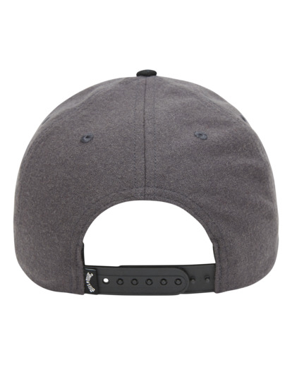 2 Stacked Up - Casquette snapback pour Homme Gris W5CM09BIP1 Billabong
