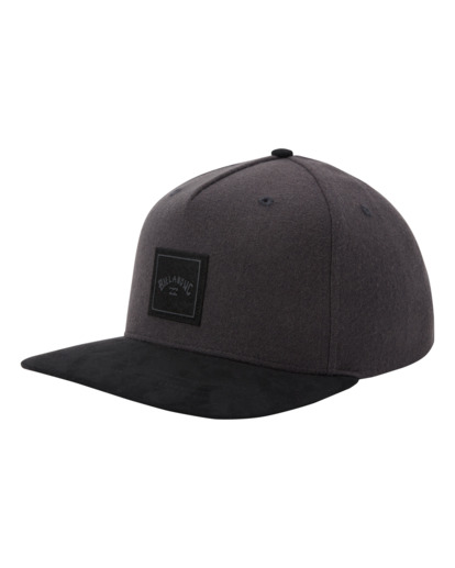 1 Stacked Up - Casquette snapback pour Homme Gris W5CM09BIP1 Billabong