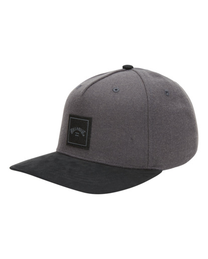 3 Stacked Up - Casquette snapback pour Homme Gris W5CM09BIP1 Billabong