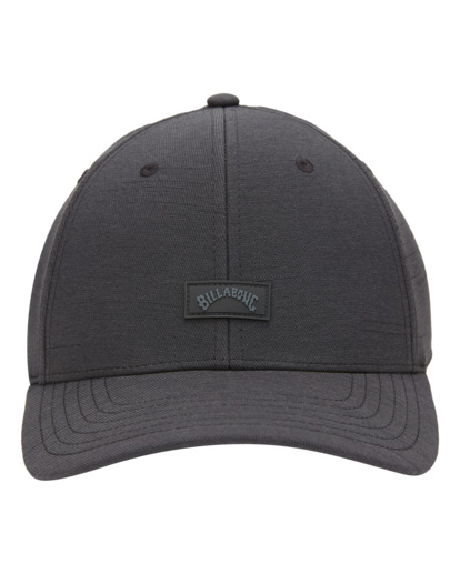 0 Adventure Division Surftrek - Snapback Cap for Men Black W5CM10BIP1 Billabong